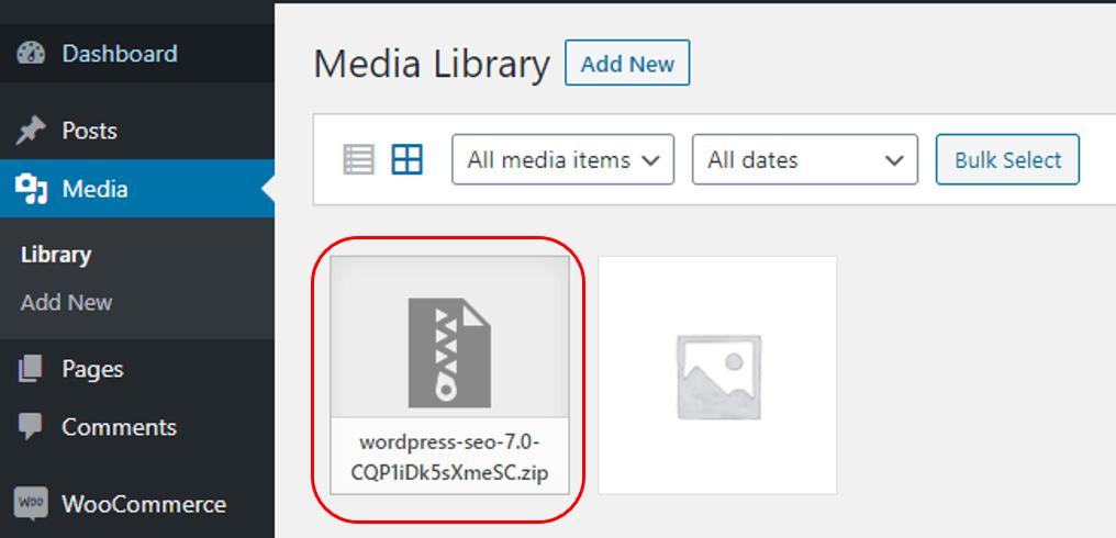 Back up file plugin lama wordpress