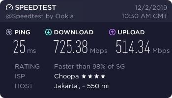 Vultr HF 12 DL-UL Speed Jakarta