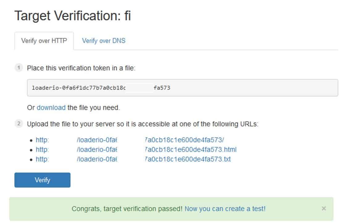 Verifikasi website dengan mengupload file ke root