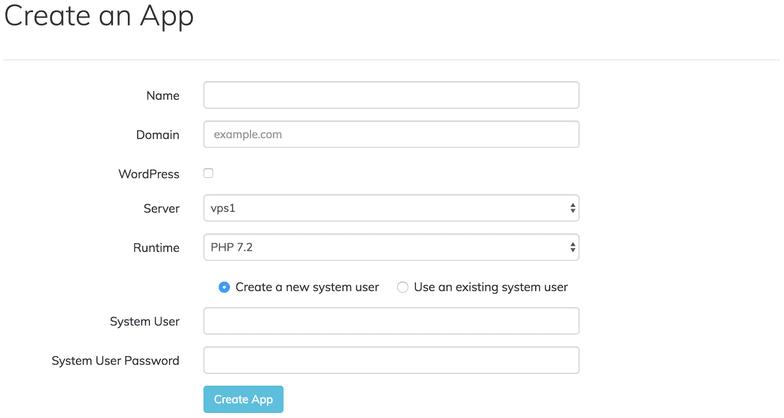 Membuat aplikasi WordPress pada ServerPilot