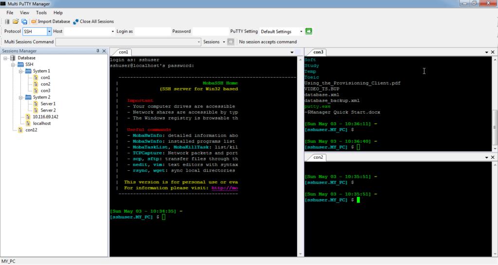 PuTTY SSH Key untuk remote VPS Server