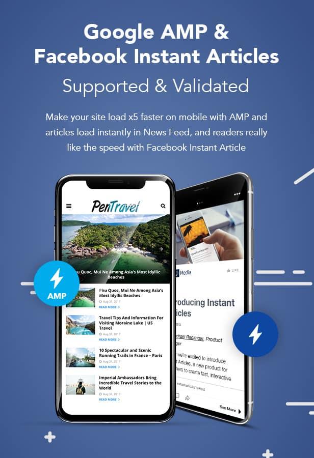Theme WordPress PenNews di ThemeForest